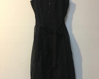 Little Black Lacy Dress
