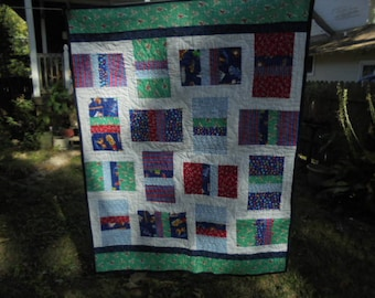 Little Boy's Toys Quilt