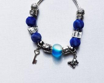 Pandora Charm style bracelet