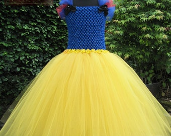 Beautiful Snow White Tutu Dress. Handmade Especially For You.  Created to delight and inspire!