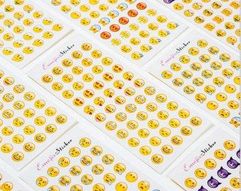 Emoji sticker apple horizontal version of the new emojis rolling eyes with 660 mini-emojis 12 entries-SM90597