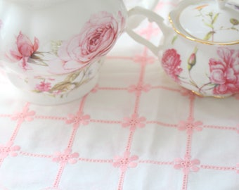TABLE RUNNER, Vintage Runner, Tea Party, Table Covering Decor, Cottage Decor, Little Princess Room Decor