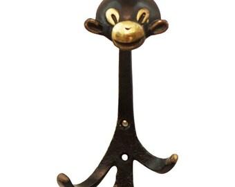 Monkey Wall Hook by Walter Bosse