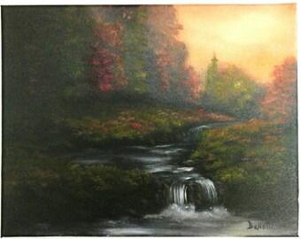 Hidden Forrest Waterfall