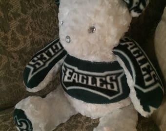 Super Bowl Eagles Teddy Bear