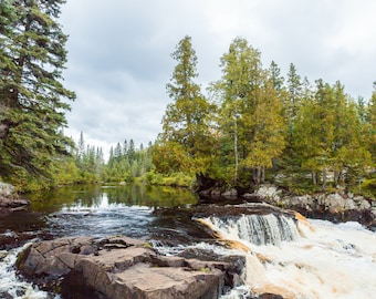 Photo of Manitou River Falls - North Shore, MN