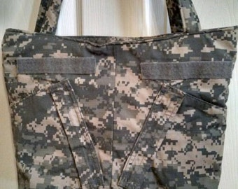 ON SALE U S Army ACU Tote Bag