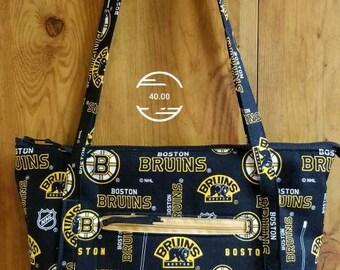 Boston Bruins shoulder bag