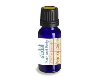 Frankincense Essential Oil (Boswellia serrata) - 100% Pure Essential Oil - 15 mL