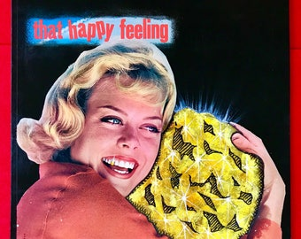 "Vinyl Record Cover Art "" That Happy Feeling"""