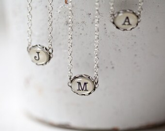 Initial necklace,  Couple necklace, Custom necklace, Monogram necklace, Initial jewelry, personalized wedding gift couple