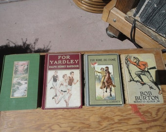 Books late 1800's to early 1900s lot of 8 books