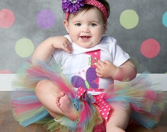 Baby Girl First Birthday Outfit, Girls 2nd Birthday Outfit, First Birthday Outfit Girl, 2nd Birthday Outfit Set, Birthday Tutu, 1st Birthday