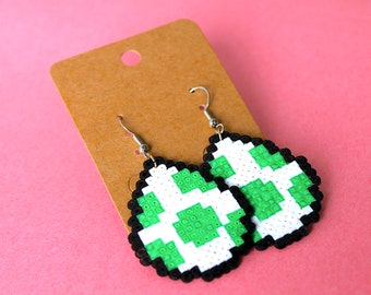 Earrings - Yoshi eggs