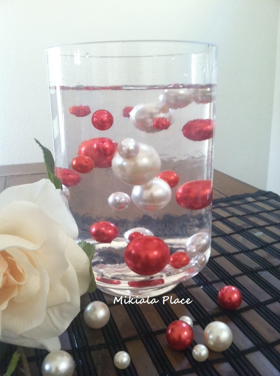 Whitered jumbo floating pearls for vase description valentine color reviewsmspy