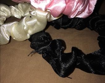 Satin Hair Tie Scrunchie