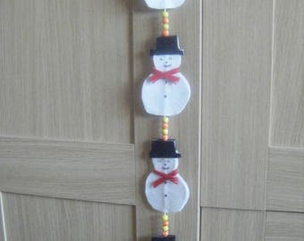 Hanging Snow men christmas decorations