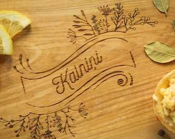 Personalized Cutting Board-Engraved, Custom Cutting Board, Personalized Wedding Gift, Housewarming Gift, Anniversary Gift, Engagement
