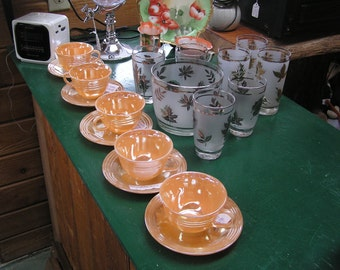 Fire King Peach Luster Ware by Anchor Hocking