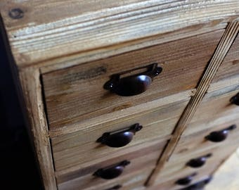 Apothecary Cabinet - Small Chest Drawers - Vintage Style