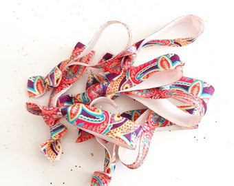 CLEARANCE 12 pc Flhair Tie Hair Elastics