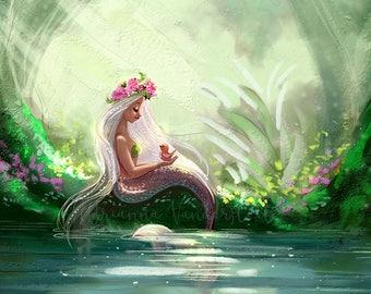 Garden Mermaid