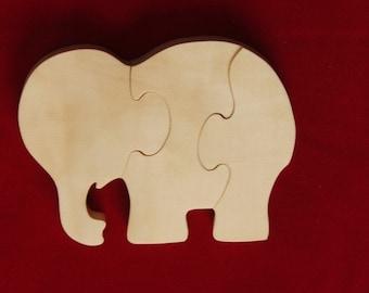 Small Elephant Puzzle