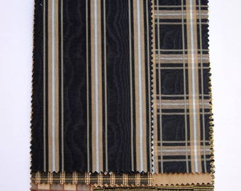 Brown and Black Fabric Pack for Fiber Artists, Bookmakers and Crafters PSS 3152