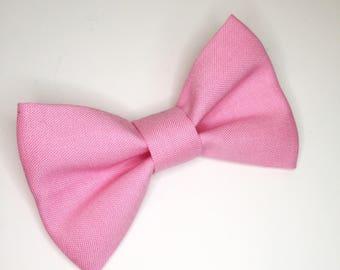 Bow Tie , Bubblegum Pink Bow Tie, Boy Bow Tie, Pink Bow Tie