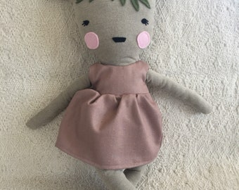 Big doll bambi deer Fawn deer stuffed animal toy baby and child