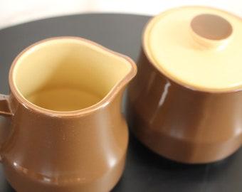 Japanese Pouring Set Vintage Retro Stoneware