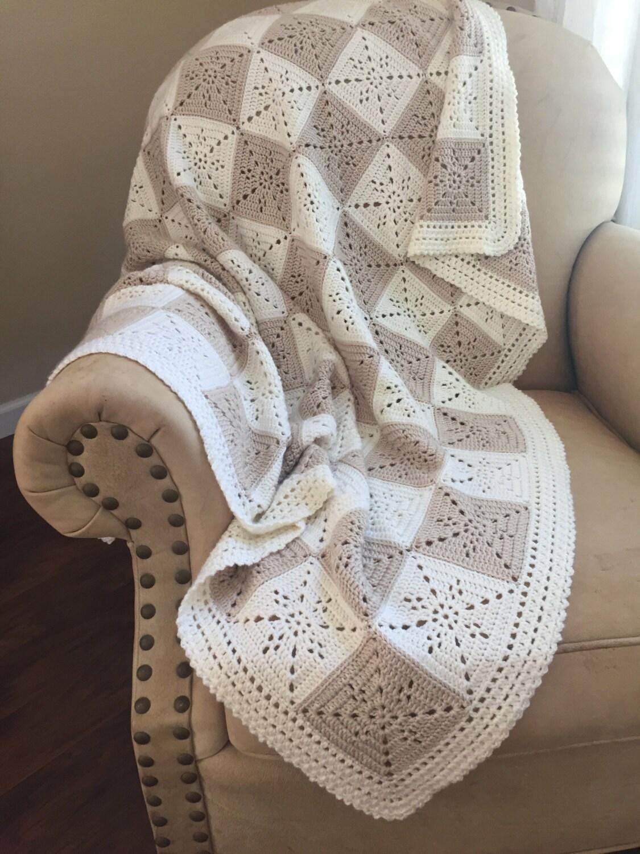Crochet Blanket Pattern - Arielle\'s Square - Crochet Baby Blanket ...