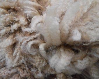 2017 Raw Fleece BL Border Leicester Ewe #187