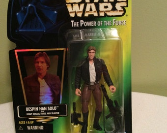 Vintage Star Wars Han Solo Bespin The Power of the a Force Action Figure