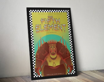 The Fifth Element Movie Poster Print