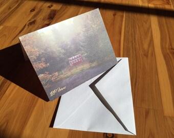 B.P. Farms - Farm Scene Cards, Set of Four - Blank Inside