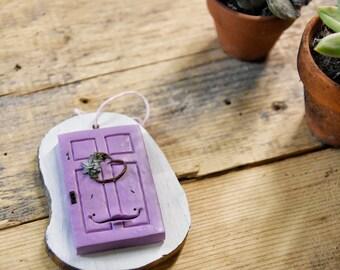 Porticina di San Valentino, decorazione da parete,  san valentino regali, san valentino per lei, casa nuova, fairy door