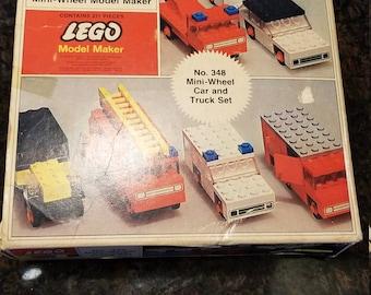 Vintage Lego Model Maker No. 348