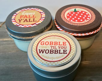 FALL 4 oz Candles