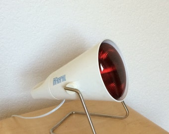 Philips Infraphil lamp Design Charlotte Perriand - Infrared Lamp Vintage