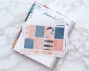 Metallic Splash DELUXE Planner Sticker Kit (6 Sheets) - For Erin Condren Vertical Life Planner