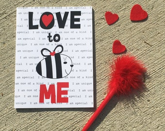 Love to BE me journal/notebook for girls