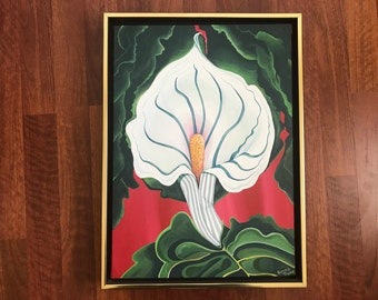 White Lily - Fine Art - Painting