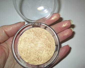 Gold Pearl Highlighting Compact - Huge 59mm pan- Vegan/Cruelty Free