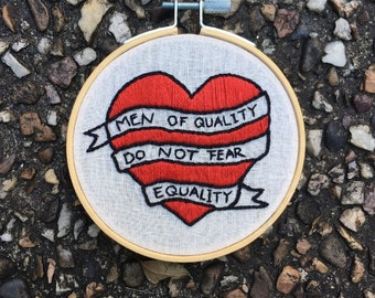 Feminist embroidery