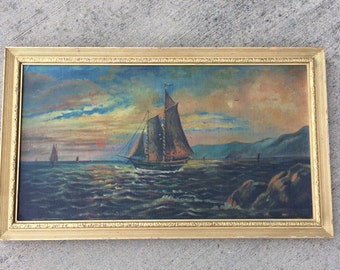 This Antique Ship Oil Painting Had Sailors Longing For The Sea