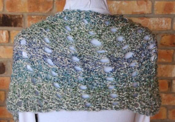 Mobius Knit Cowl Pattern Knitting Pattern For Homespun Yarn