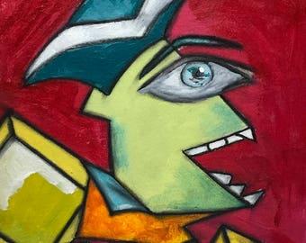 Knick Knack Nick - Abstract Art