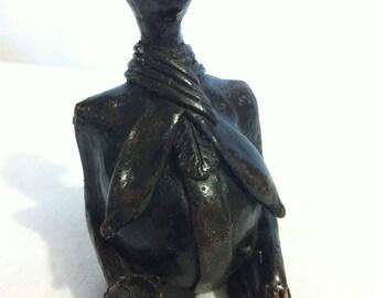 The black patina Malian