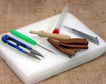 Needle Felting, Advanced Starter Kit, Wool Felt Tools, Mat + Needle + Accessories Craft, Great for Beginners, Ready to Ship
